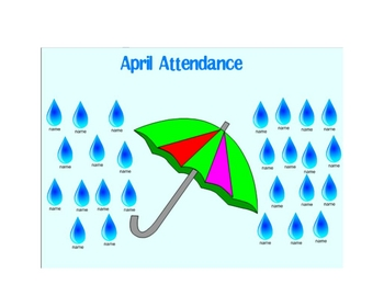 SpringRaindrop Attendance - Watch your raindrops fall!/