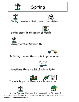 Spring/St. Patrick's Day Story and Comprehension