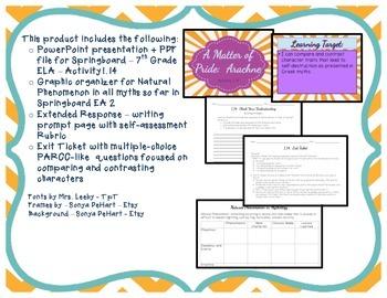 Springboard - 7th Grade ELA - Activity 1.14