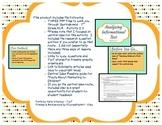 Springboard - 7th Grade ELA - Activity 2.3 (central idea)