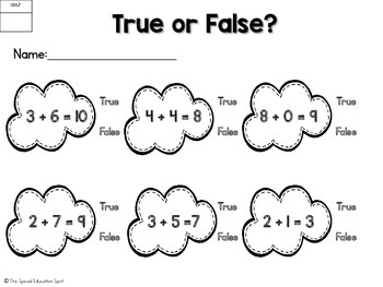 Addition and Subtraction {Common Core Aligned}