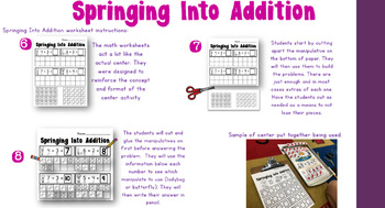 Springing Into Addition