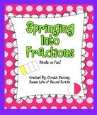 Springing Into Fractions: Hands-On Fun!
