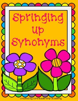 Springing Up Synonyms