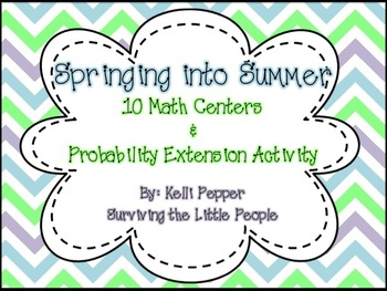 Springing into Summer Math Centers