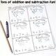 Spring Math - Addition, Subtraction and Numbers Practice