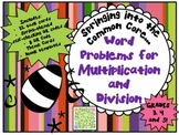 QR - Springing into the Common Core - Multiplication and D