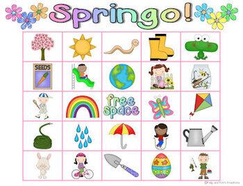 Springo: Spring Bingo!