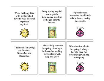 Springtime Absurdities