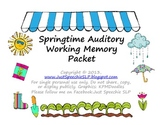 Springtime Auditory Working Memory Complete Kit