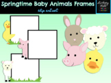 Baby Animals of Spring Frames {Clip Art Set}