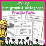 Springtime Bar Graphs & Pictographs