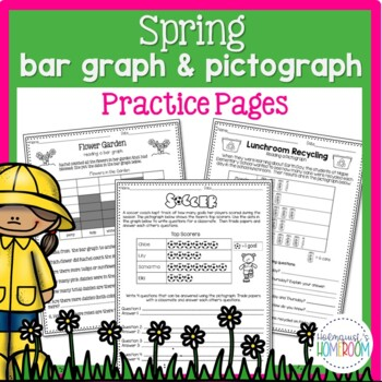 Springtime Bar Graphs & Pictographs