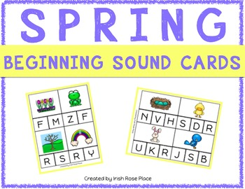 Spring Beginning Sound Cards