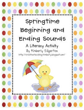 Springtime Beginning and Ending Sounds