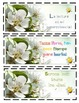 Springtime Bookmarks Freebie!