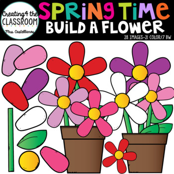 Springtime Build a Flower Kit