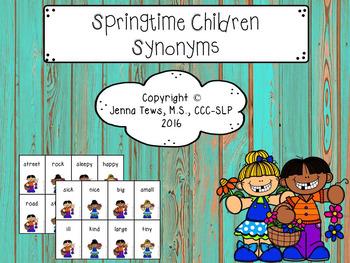 Springtime Children Synonyms