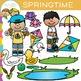 Springtime Spring Clip Art