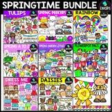 Springtime Clip Art Bundle