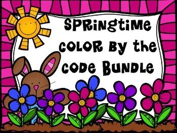 Springtime Color by the Code Bundle