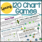 120 Chart Math Games for Spring