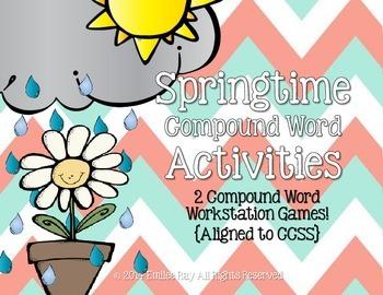 Springtime Compound Word Unit {CCSS}