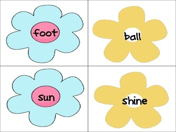 Springtime Compound Word Work