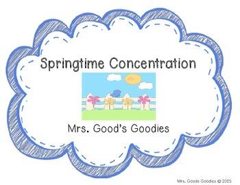 Springtime Concentration