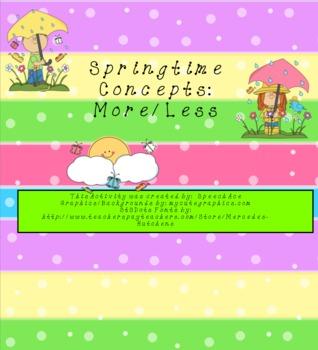 Springtime Concepts: More/Less