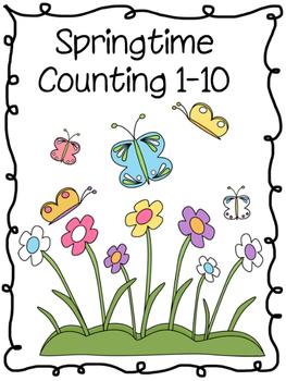 Springtime Counting 1-10