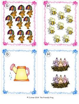 Springtime Counting, Addition & Subtraction 1-10: Write the Room