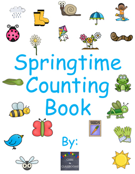 Springtime Counting Adapted Story