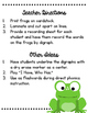 Springtime Digraph Hop {CH, SH, TH, & WH Sort- Frog Theme}
