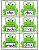 Spring Activity Digraph Sort {CH, SH, TH, & WH- Frog Theme}