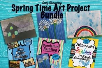 Springtime Early Elementary Art Bundle