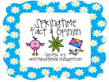 Springtime Fact and Opinion