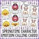 Springtime Feelings Bingo Game - Emotions - Elementary School Counseling