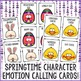 Springtime Feelings Bingo Game - Emotions - Elementary Sch