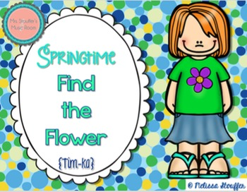 Springtime Find the Flower {Tim-ka}
