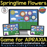 FUN & EASY to use! CV words for Apraxia - Remote Learning