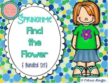 Springtime Find the Flower {Bundled Set}