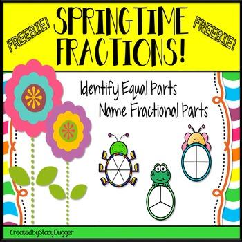 Springtime Fractions FREEBIE