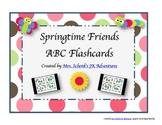 Springtime Friends ABC Flashcards