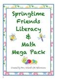 Springtime Friends Literacy & Math Mega Pack