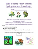 Springtime & Friendship Poster - Wall of Fame!