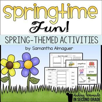 Springtime Fun!  {Spring Themed Literacy Activities}