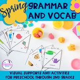 Springtime Grammar & Vocabulary Activities