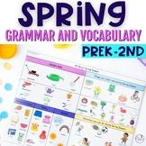 Spring Themed Vocabulary & Grammar Activities