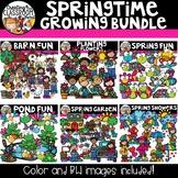 Springtime Growing Bundle {Spring Clipart}